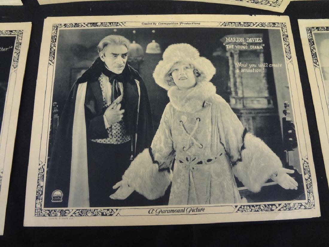"Paramount Pictures 7/8 Lobby Cards Marion Davies ""The - 6"