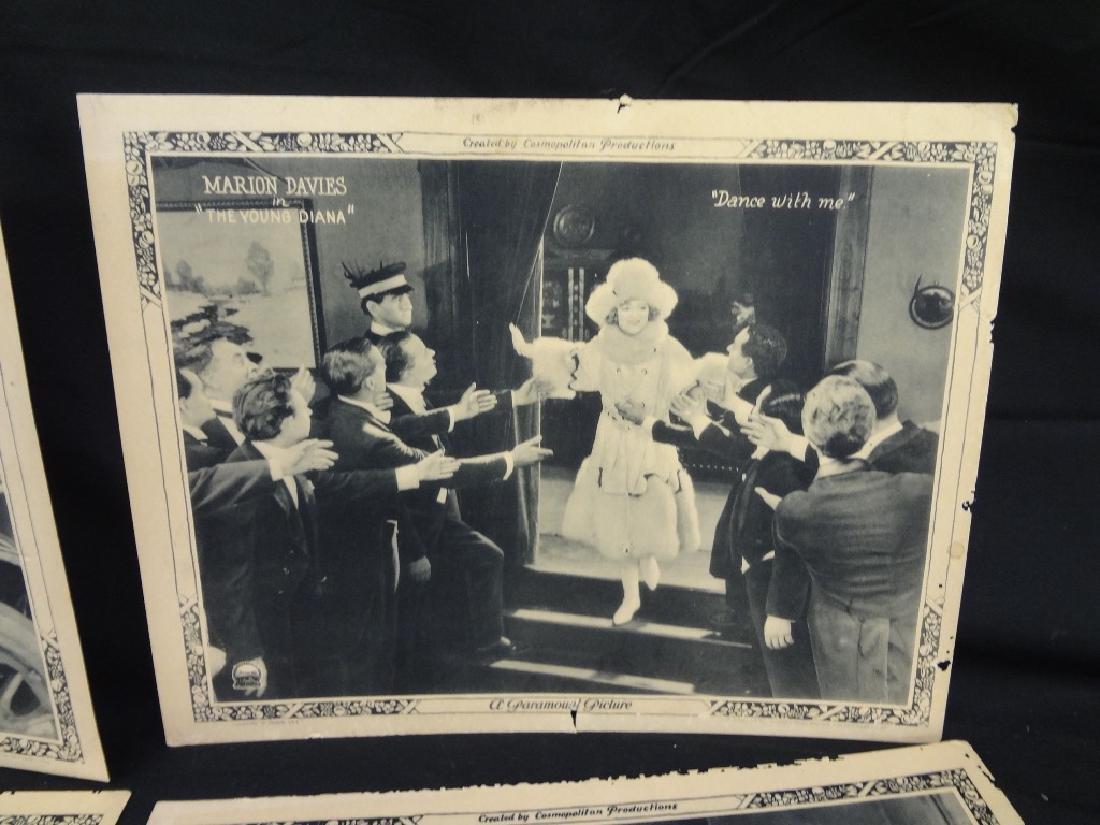 "Paramount Pictures 7/8 Lobby Cards Marion Davies ""The - 7"
