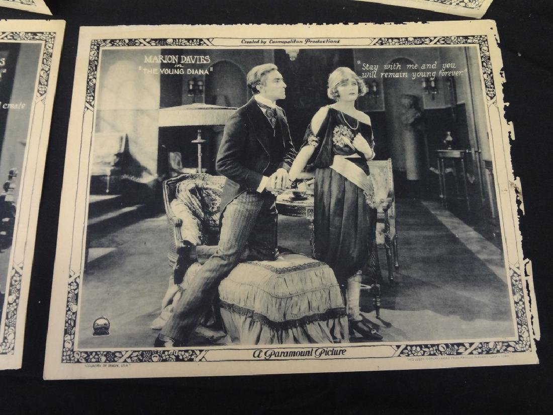 "Paramount Pictures 7/8 Lobby Cards Marion Davies ""The - 8"