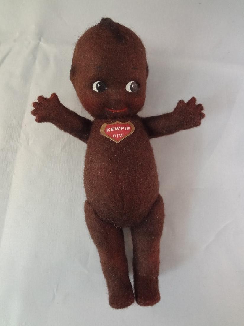R. John Wright Black Kewpie Plush Doll 135/500