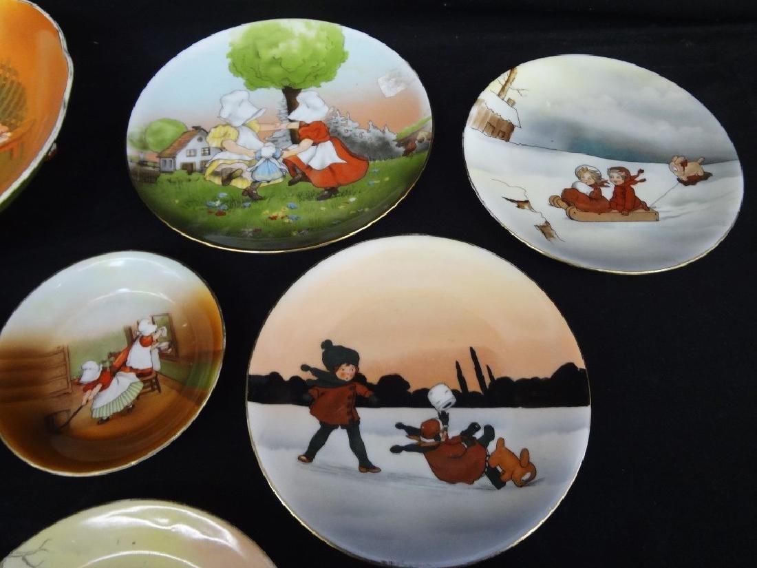 Royal Bayreuth Sunbonnet Girls Dishes - 3