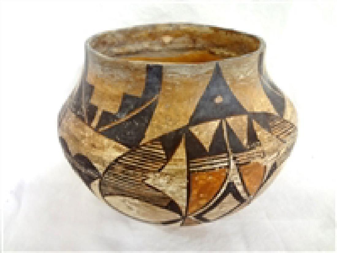 Acoma Polychrome (Olla) Pueblo Native American Storage