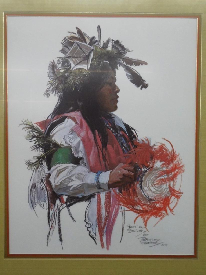 Bettina Steinke Artist Proof Lithograph AP/9 Native