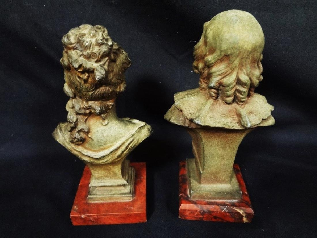 Pedro Ramon Jose Rigual (1863 - 1917) Pair of Bronze - 4