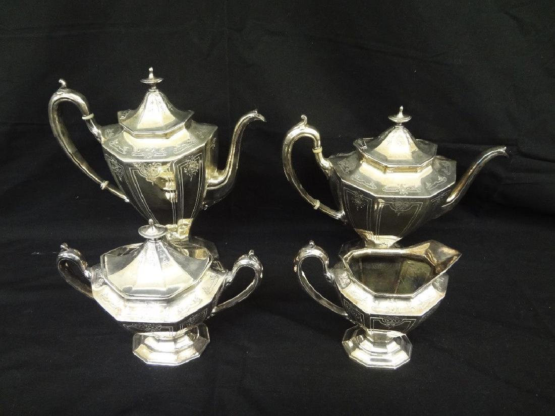 Reed and Barton Silver Plated Tea Set