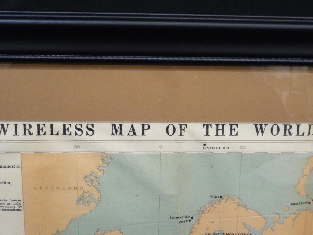 "The Marconi Press ""Wireless Map of the World"" 1914 - 2"