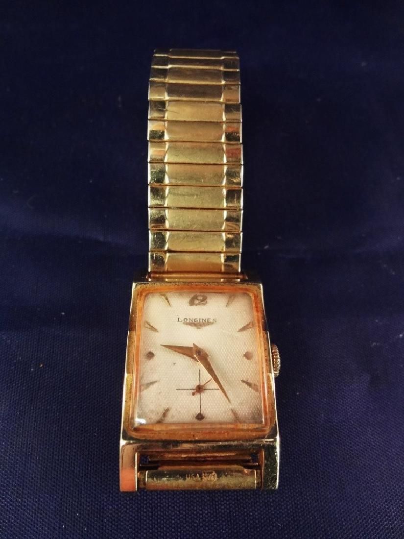 Longines 14K Gold Wristwatch Flexible Band