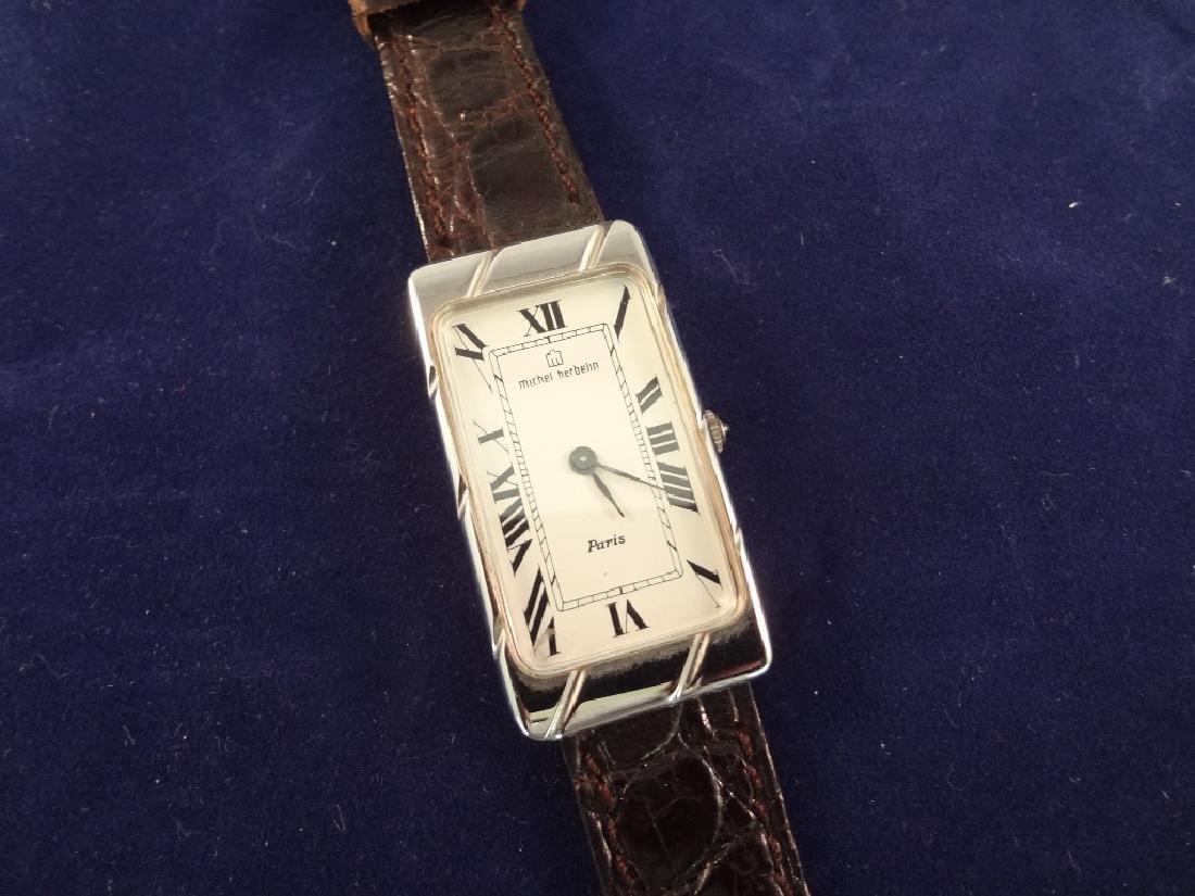 Michel Herbelin Rectangle Face Like New Wristwatch 2681