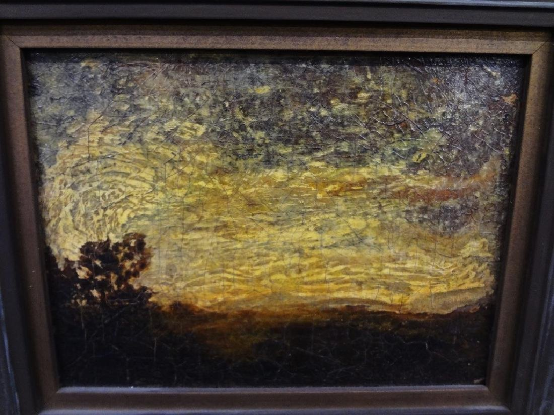 19th Century Oil on Canvas Possibly Thomas Bromley - 2