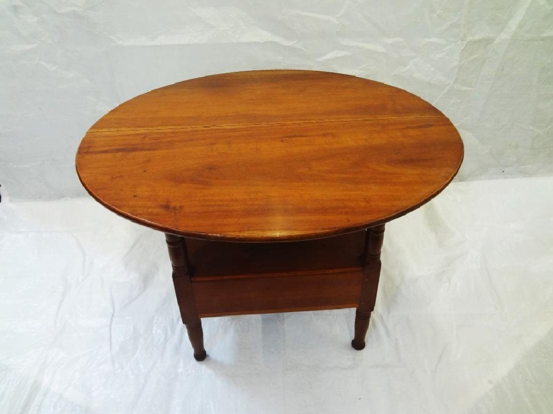 1850's Cherry Tilt Top Table Chair