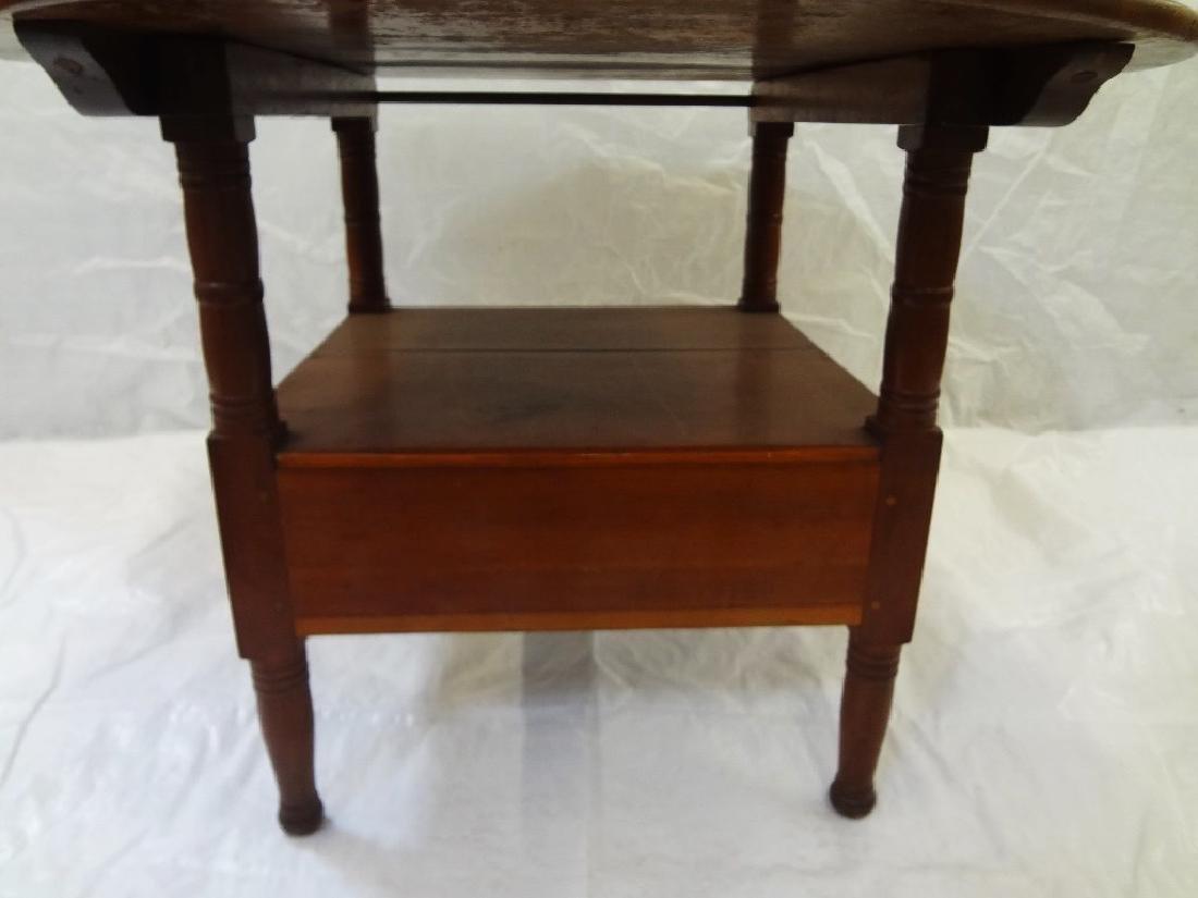 1850's Cherry Tilt Top Table Chair - 2