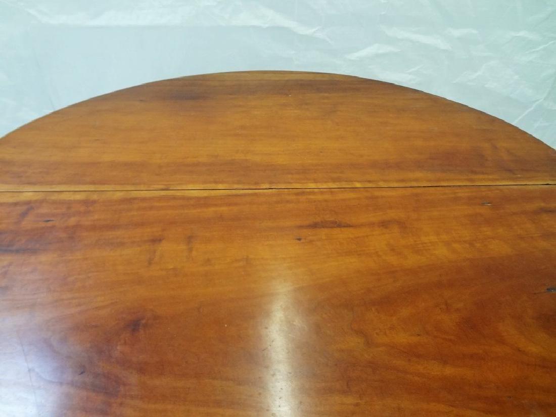 1850's Cherry Tilt Top Table Chair - 3