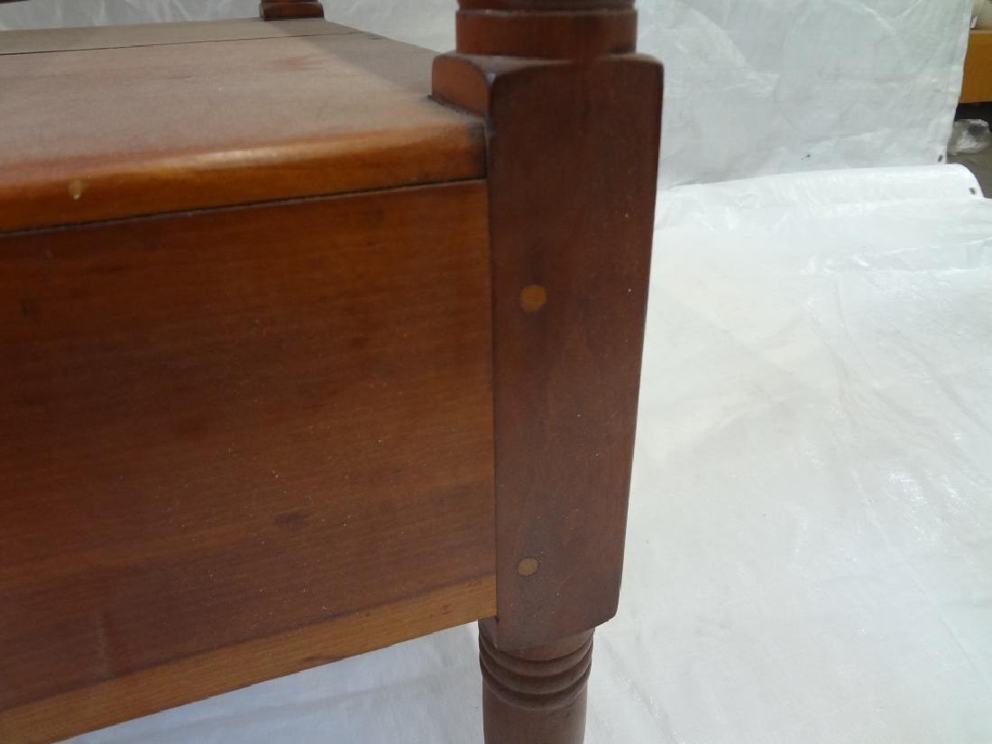 1850's Cherry Tilt Top Table Chair - 6
