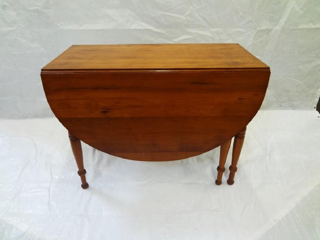 Double Drop Leaf Cherry Table with Gate Legs