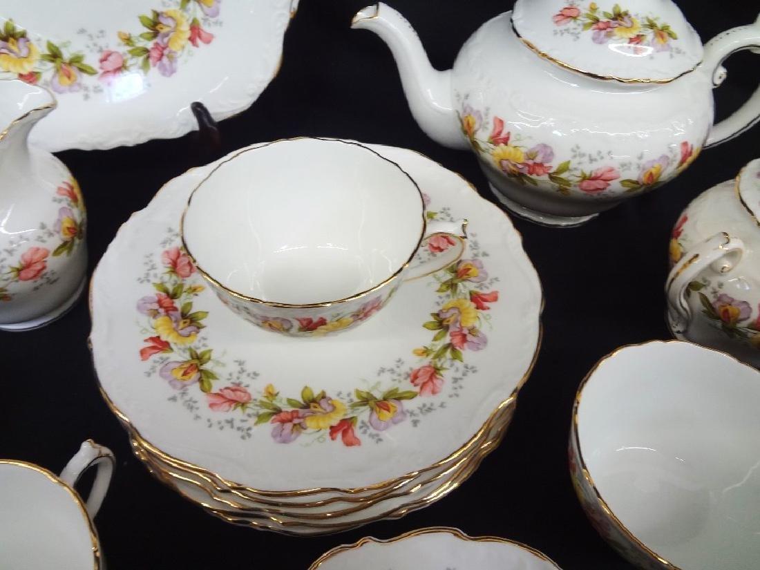 "Coalport Bone China ""Marilyn"" Tea Service for Six - 2"