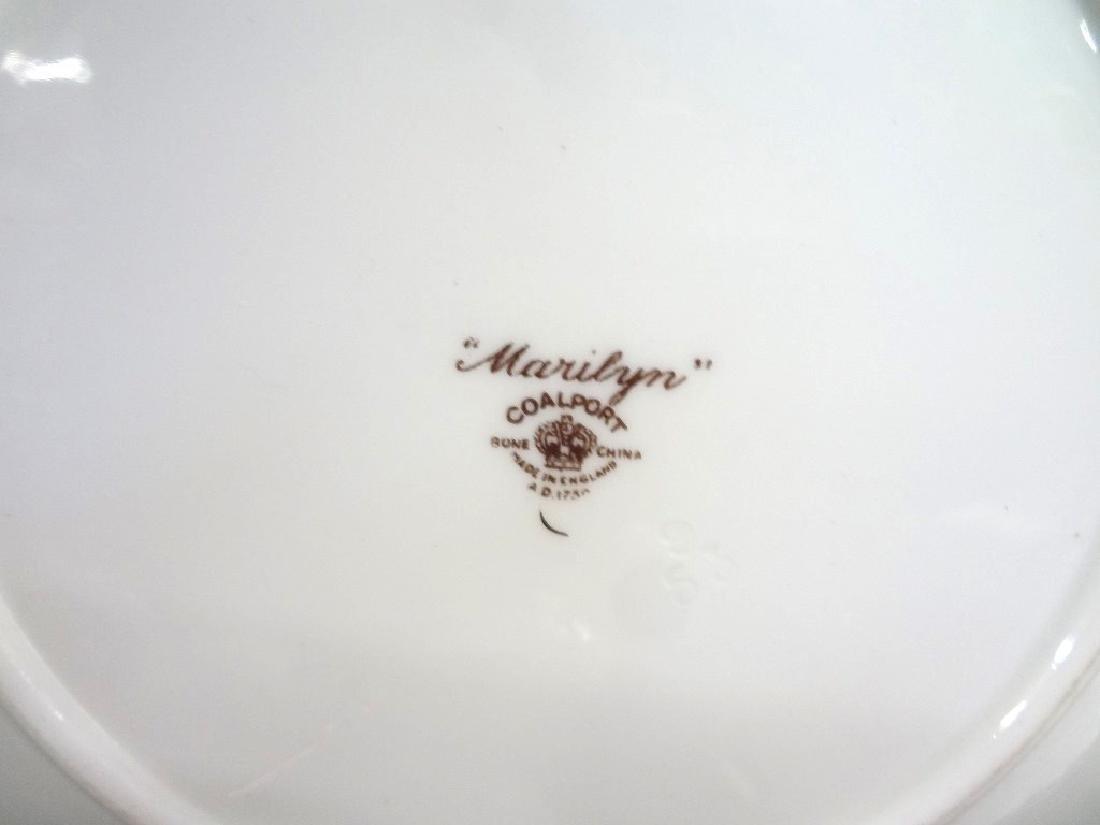 "Coalport Bone China ""Marilyn"" Tea Service for Six - 4"