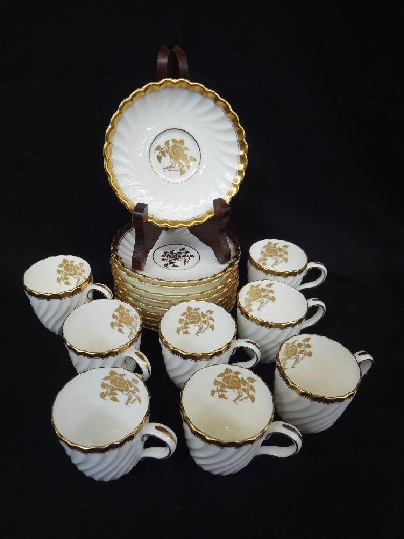 Mintons Demitasse Set Service for Eight