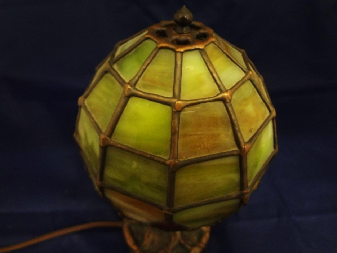 The Christiansen's Lamp Co. Leaded Glass Shade Tree - 3