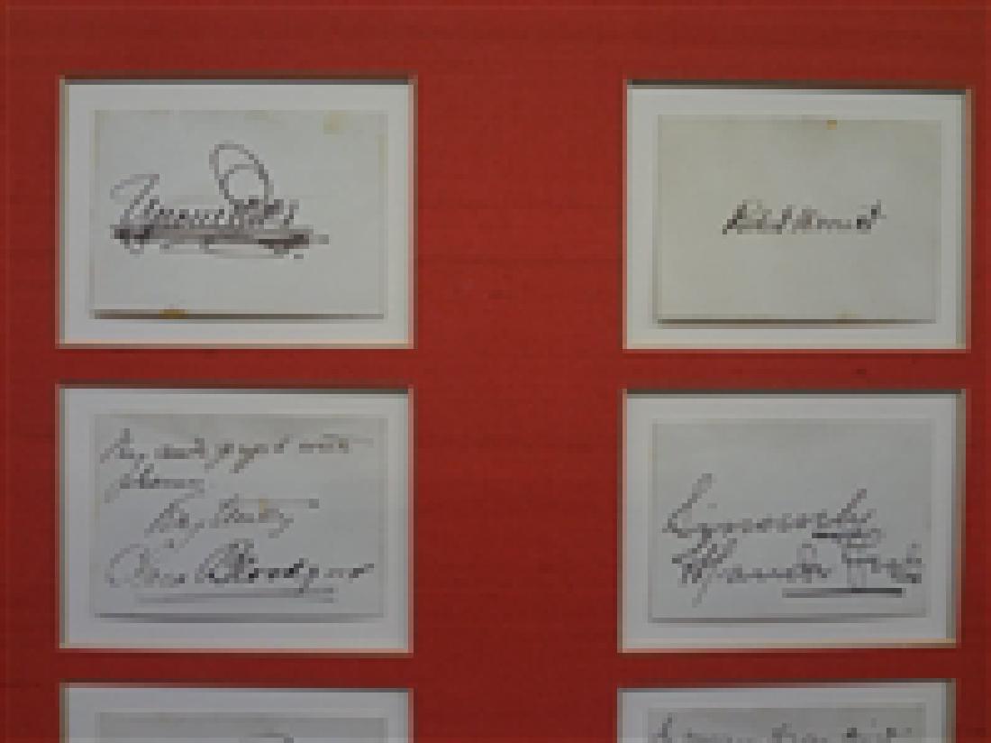 Early 1900's Autograph Stage Actors (20) Autograph - 2