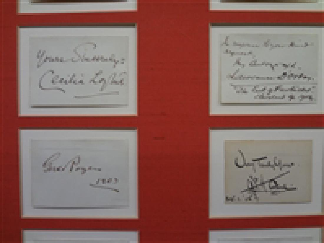Early 1900's Autograph Stage Actors (20) Autograph - 3