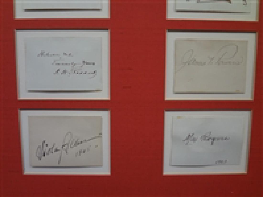 Early 1900's Autograph Stage Actors (20) Autograph - 6
