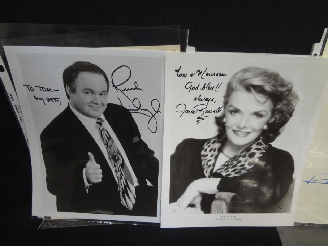 (13) Hollywood Autographs: Leroy Nieman, Liza Minelli, - 4