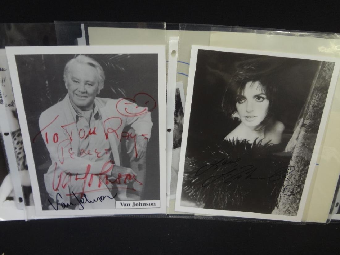 (13) Hollywood Autographs: Leroy Nieman, Liza Minelli, - 7