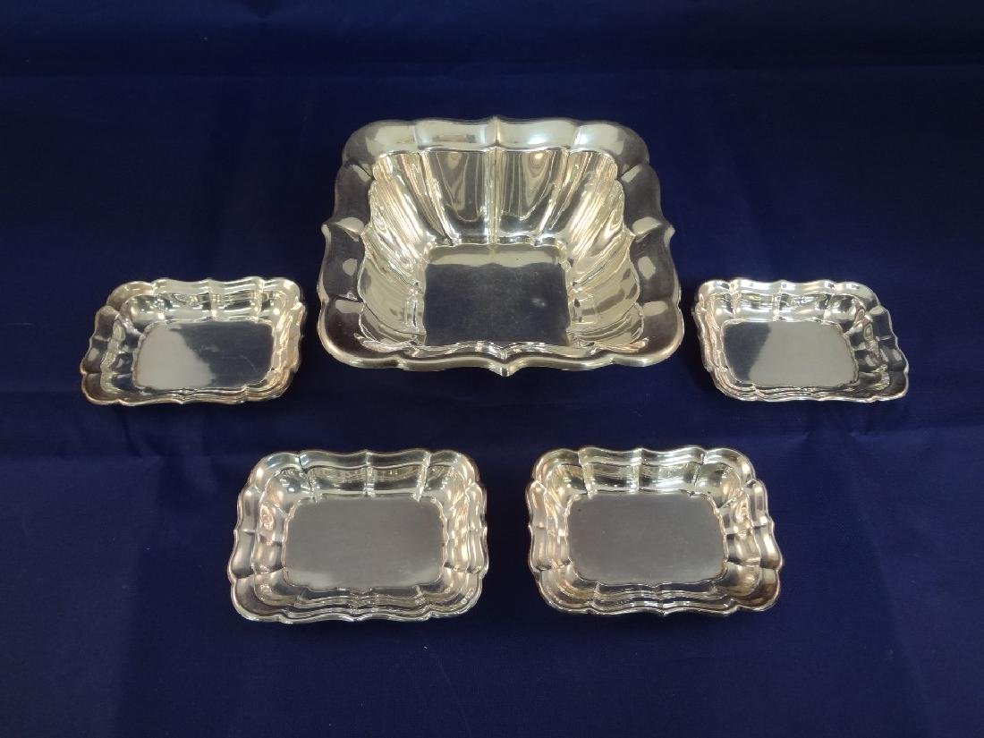 Reed and Barton Windsor Sterling Silver Dish and Salts