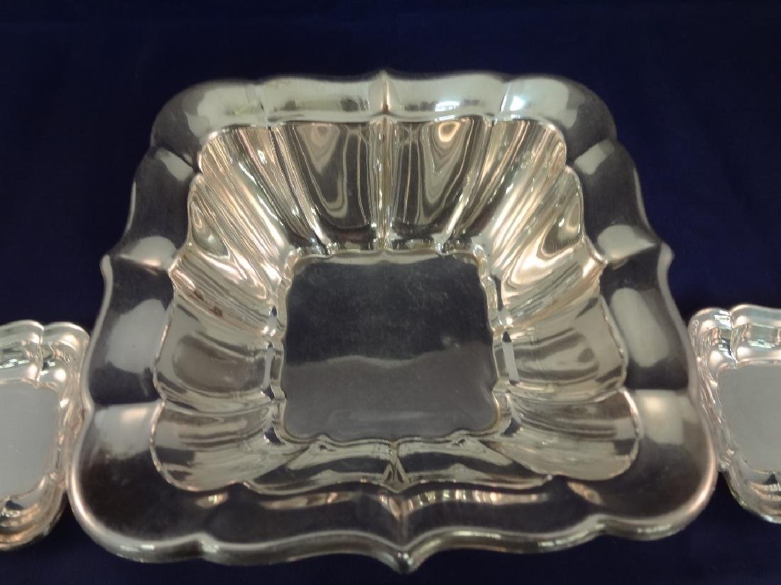 Reed and Barton Windsor Sterling Silver Dish and Salts - 2