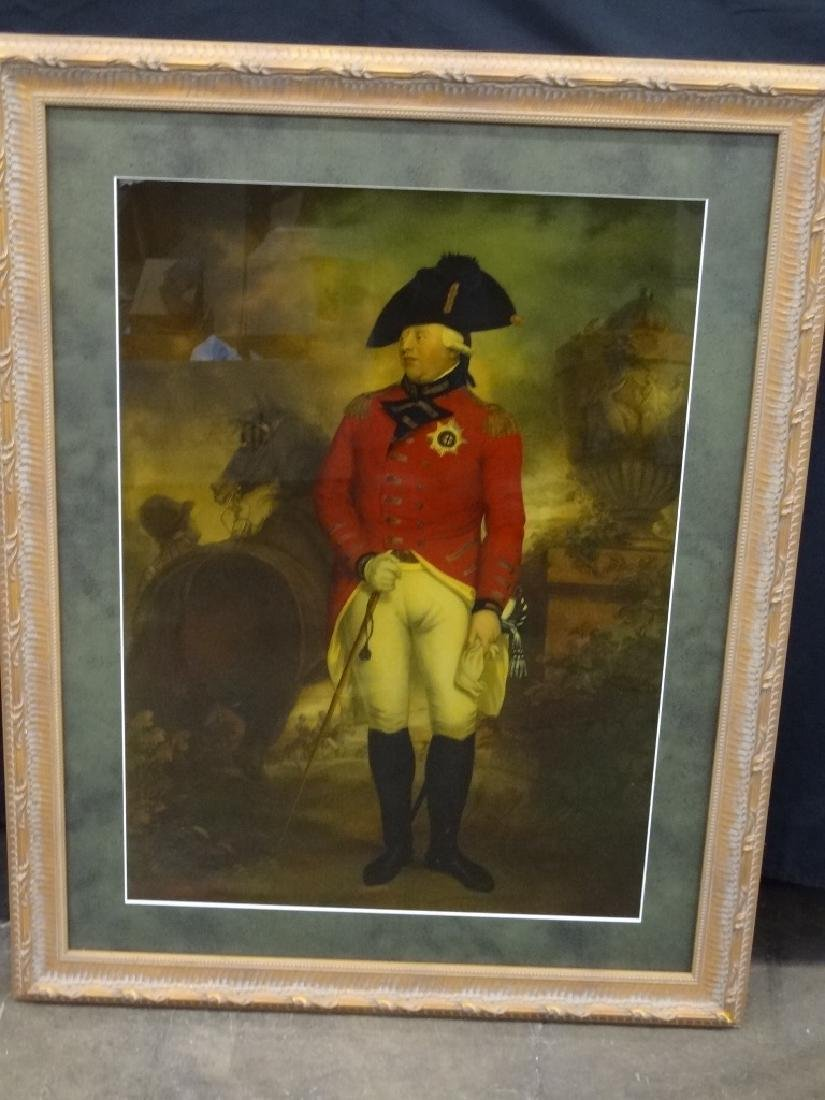 King George III Military Portrait by Sir William