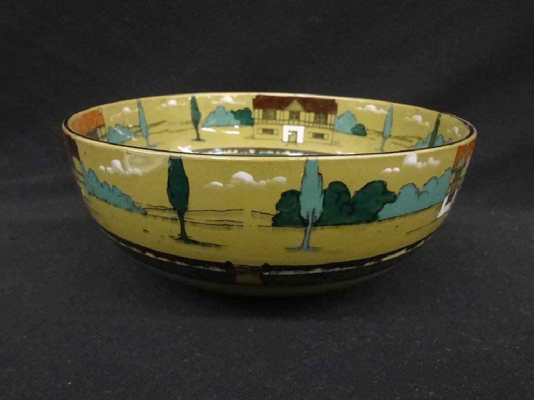 "Buffalo Pottery Deldare Ware 9"" Serving Bowl ""The - 2"