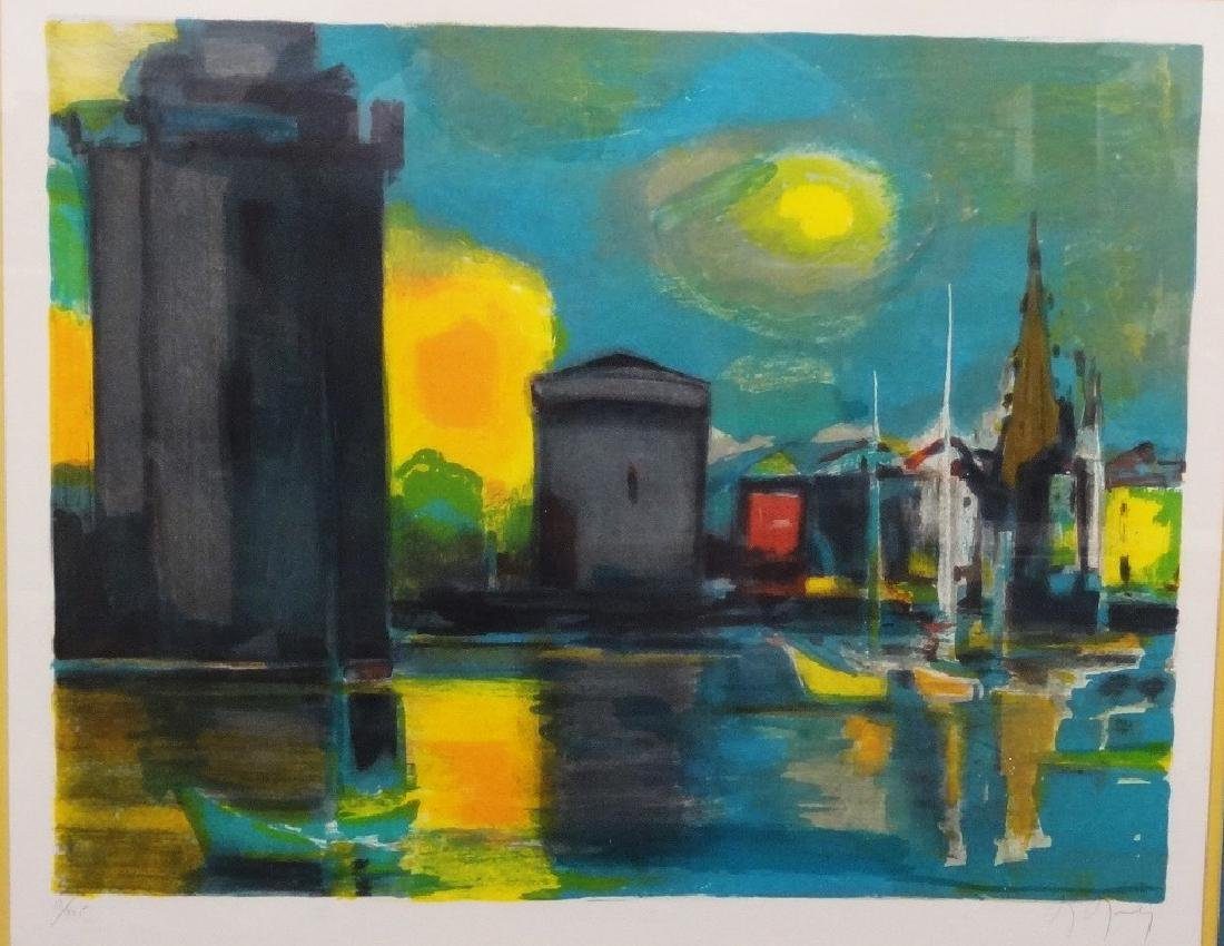 Marcel Mouly  (1918 - 2008) Signed Lithograph