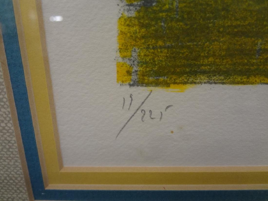 Marcel Mouly  (1918 - 2008) Signed Lithograph - 3