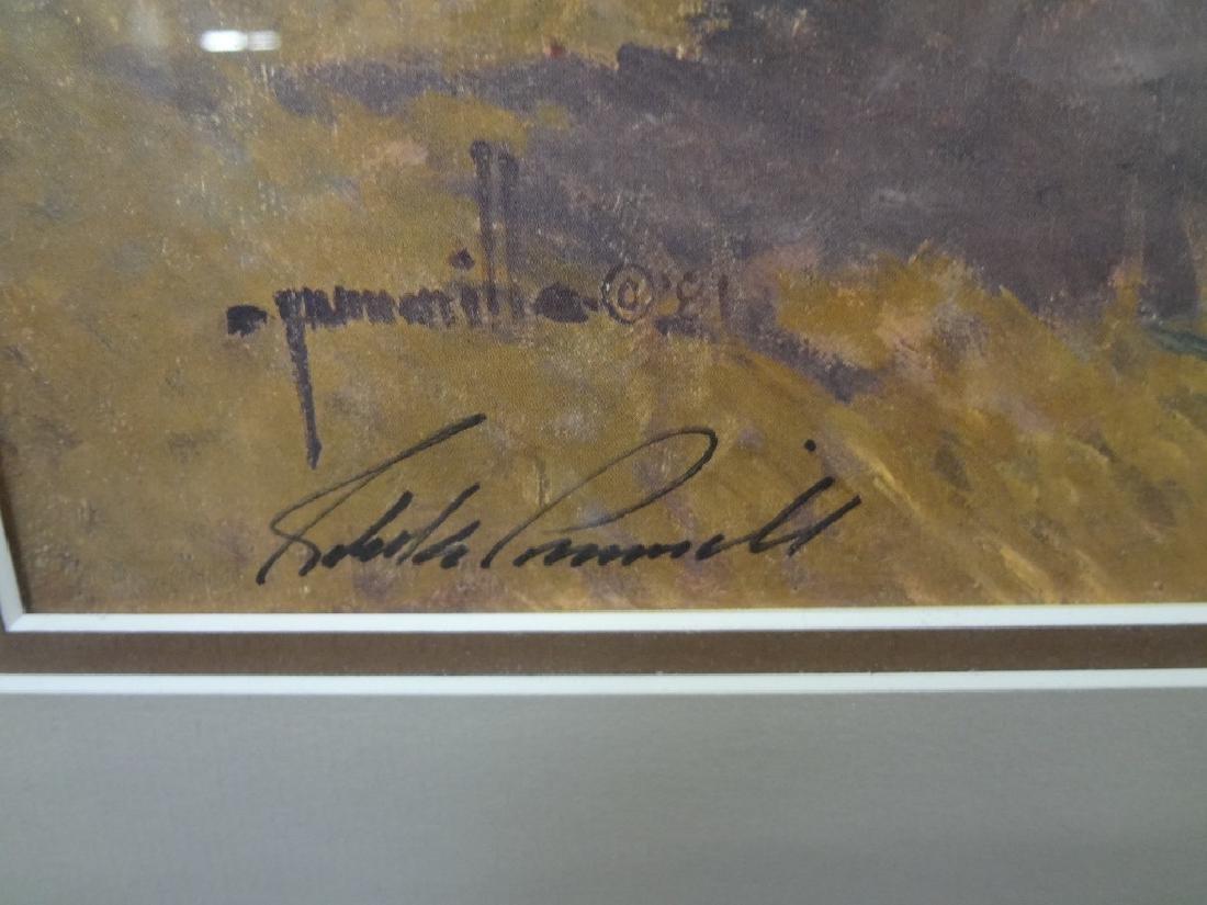 """Robert Pummell Artist Proof Signed Lithograph """"A Matter - 2"""