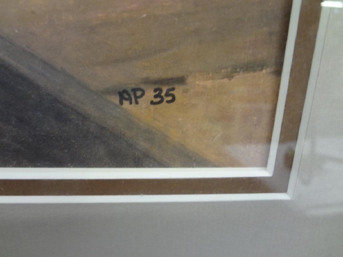 """Robert Pummell Artist Proof Signed Lithograph """"A Matter - 3"""