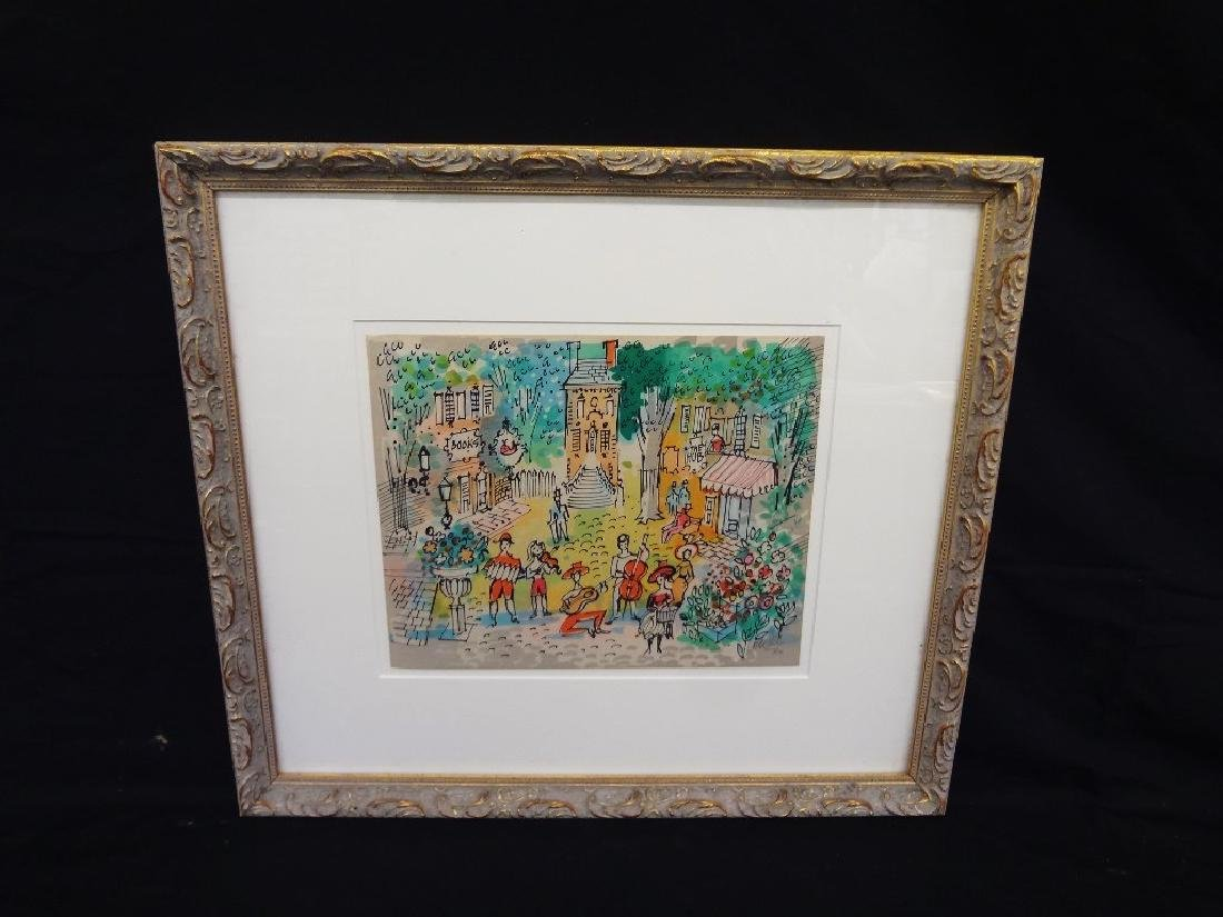 Charles Cobelle  (1902 - 1998) Signed Lithograph