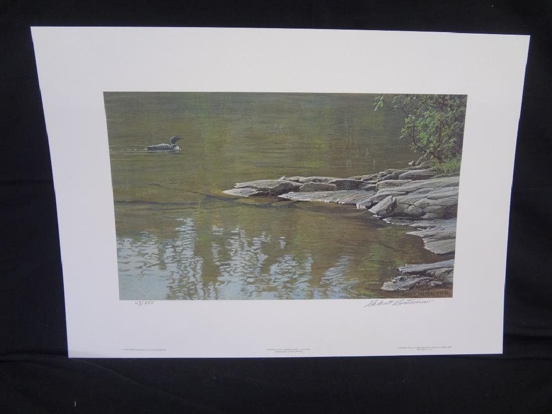 "Robert Bateman ""Common Loon"" Signed Lithograph"