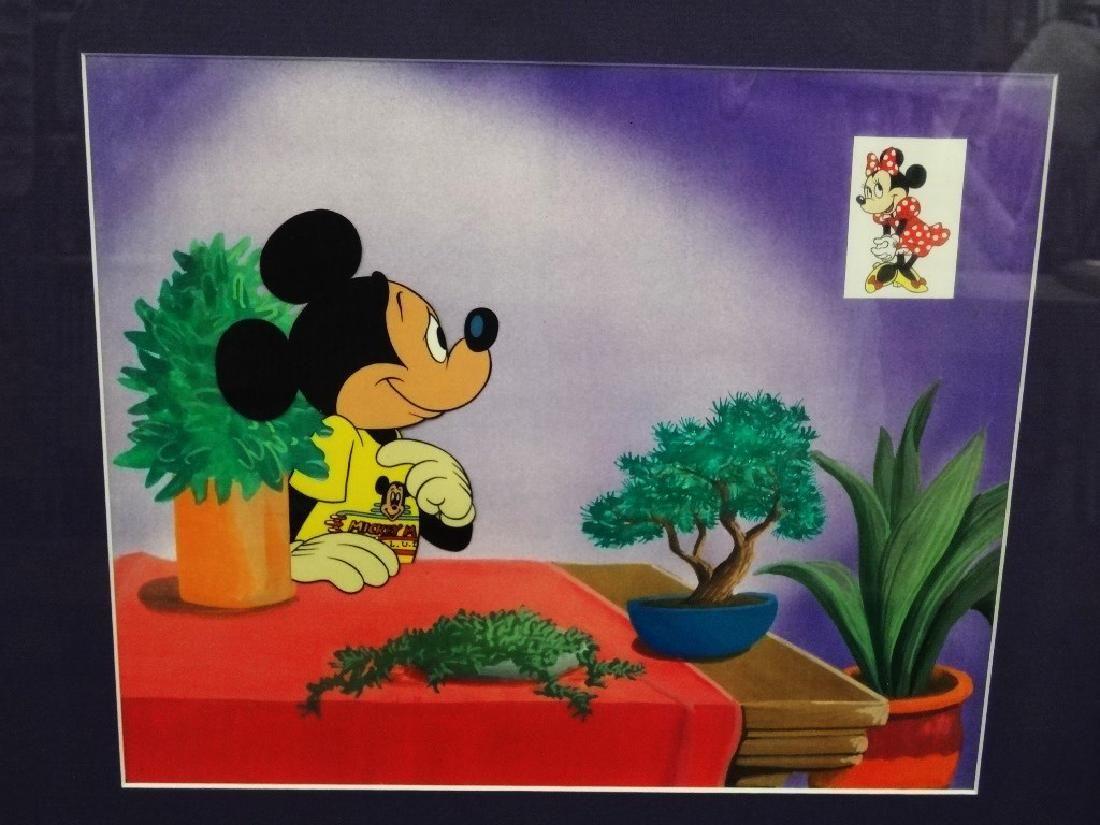 Walt Disney Mickey Mouse Production Animation Cel