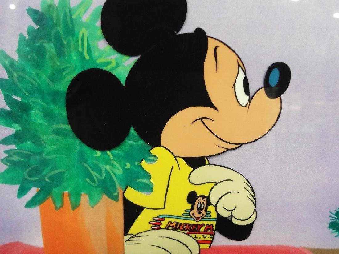 Walt Disney Mickey Mouse Production Animation Cel - 2