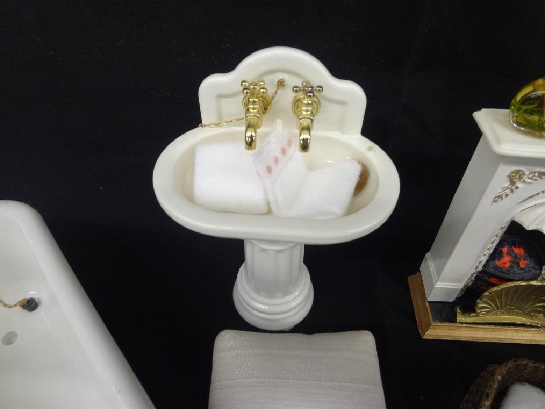 Collection of Miniature Doll House Furniture - 5