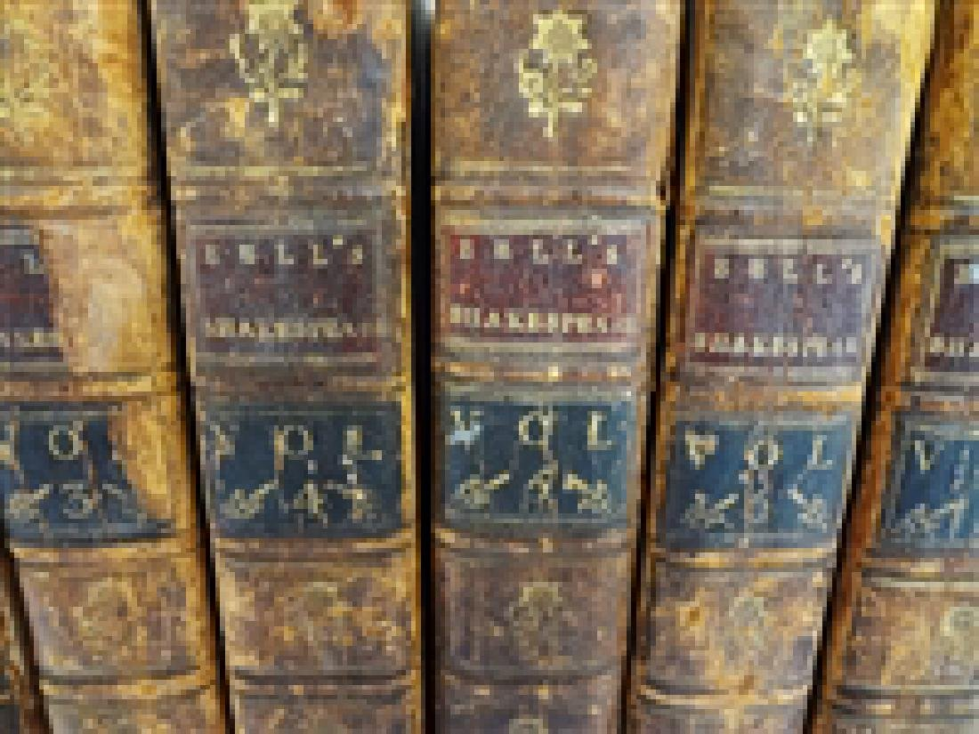 Bell's Edition of Shakespeare's Plays 7 of 9 volumes - 2