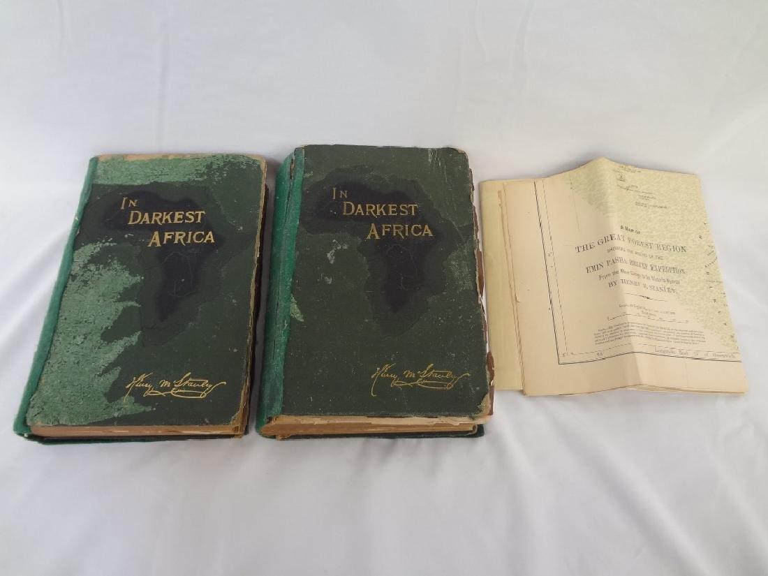 In Darkest Africa Henry M. Stanley 1890 Scribner's