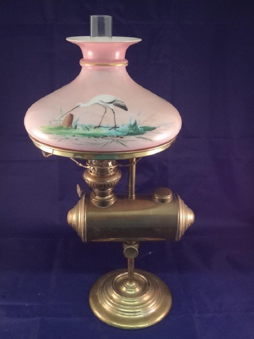 E. Miller & Co. Lincoln Log Student Lamp Original