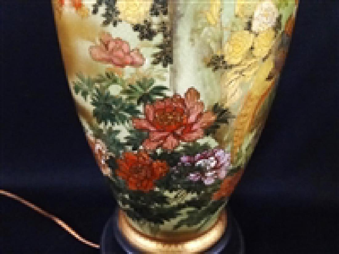 Satsuma Hand Painted Table Lamp - 2