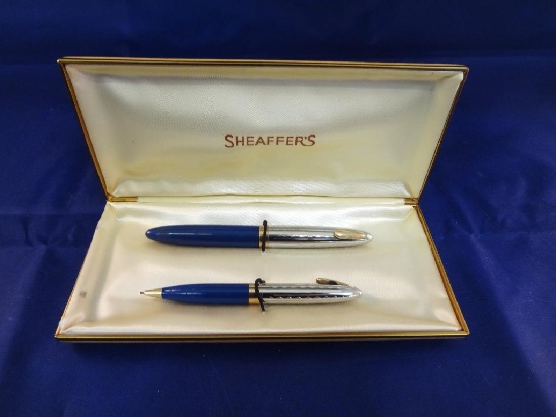 Scheaffer 14k Gold Nib Pen and Pencil Set in Original