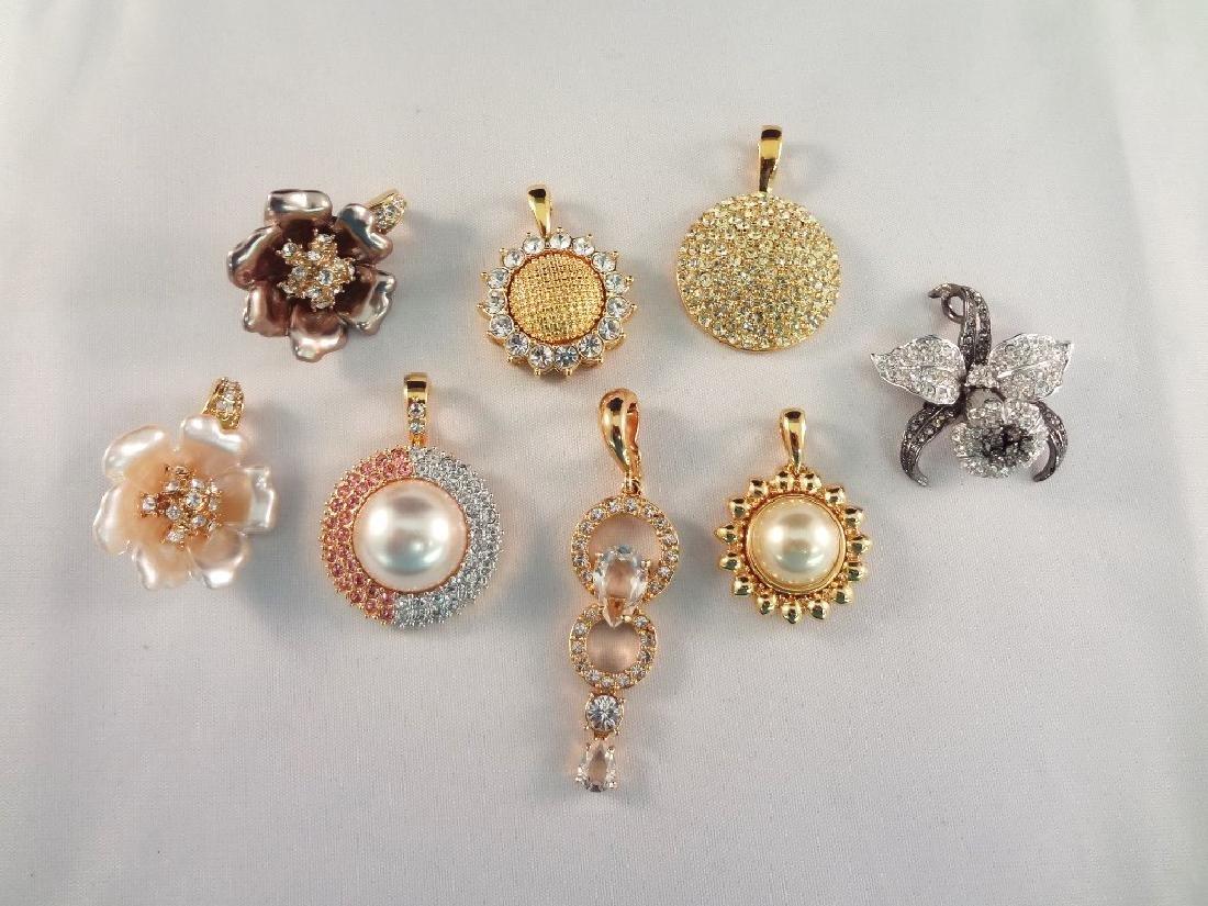 (8) Nolan Miller Pendant Jewelry Group