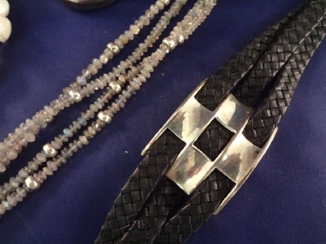 Robert Lee Morris Sterling Silver Jewelry Group - 2