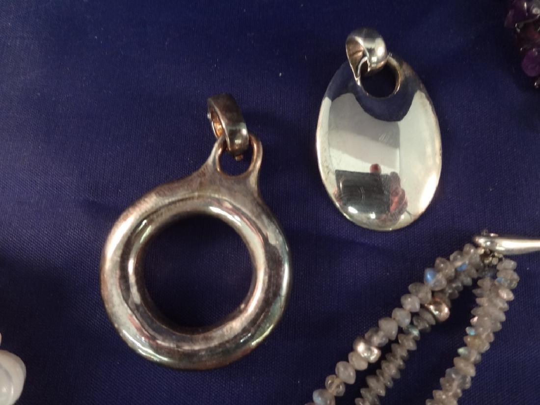 Robert Lee Morris Sterling Silver Jewelry Group - 4