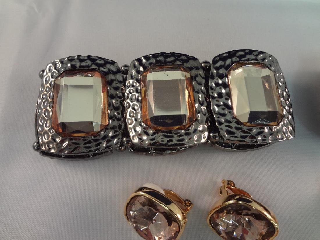 Joan Rivers Bracelets, Earrings and Pendant - 2
