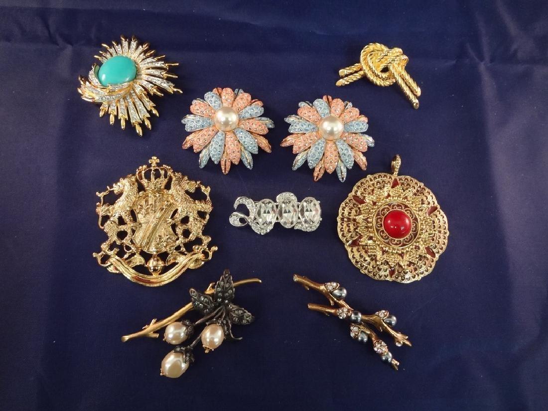 Joan Rivers Jewelry (9) Brooch and Pendants